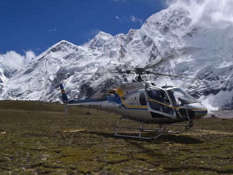 Everest Base Camp Helicopter Flight Landing Tour